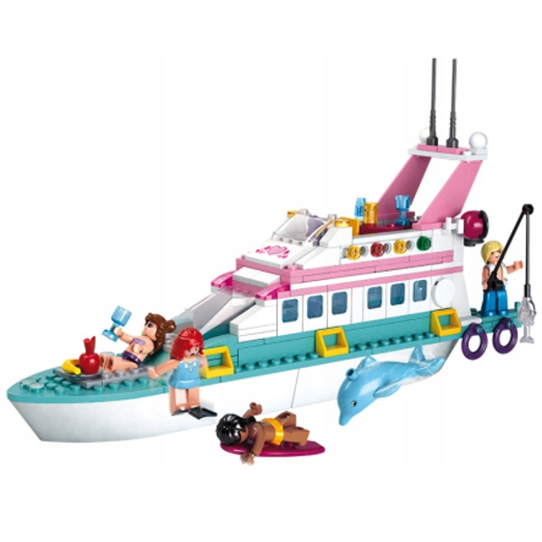 Klocki Sluban Jacht 328 el