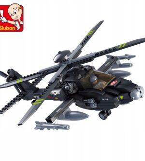 Klocki Sluban Army Helikopter 293 el