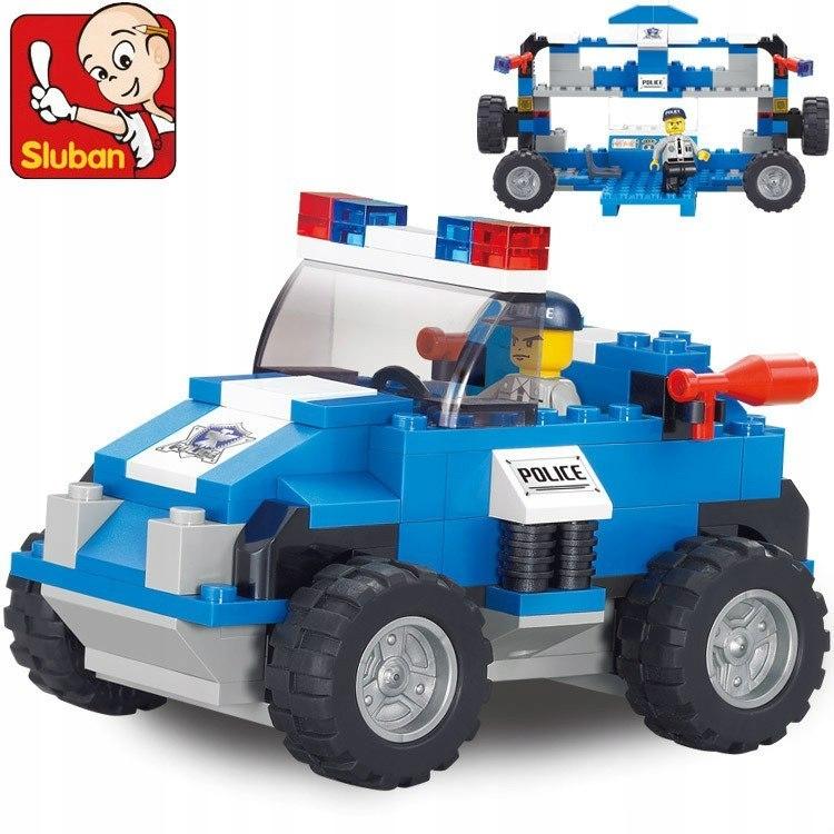 Klocki Sluban Policja 121 el