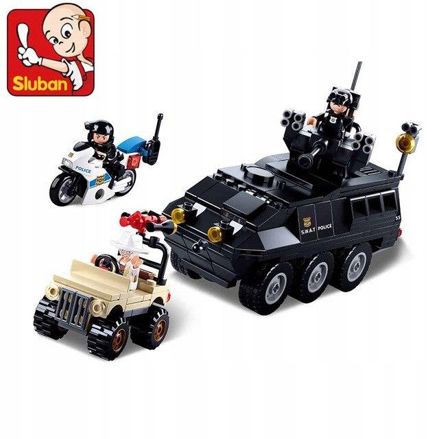 Klocki Sluban Policja 324 el