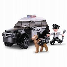 Klocki Sluban Policja 78 el